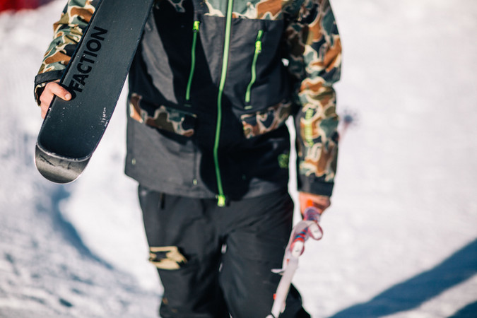 FACTION SKIS 2020 CAMPAIGN SHOOT