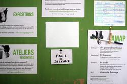 Affichage d'organisation