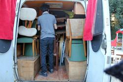 Logistique caravane