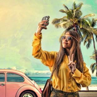 Hippie Selfie