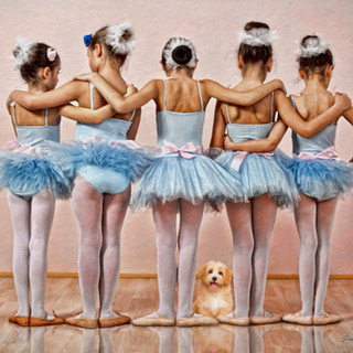 Five Little Ballerinas