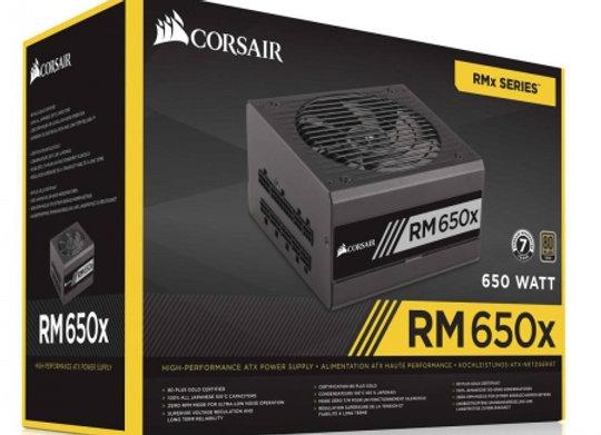 CORSAIR RM650x 80+ Gold Modular