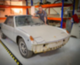 Porsche 914 electric Vintage Voltage Season 1