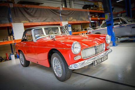 MG Midget electric Vintage Voltage Season 1