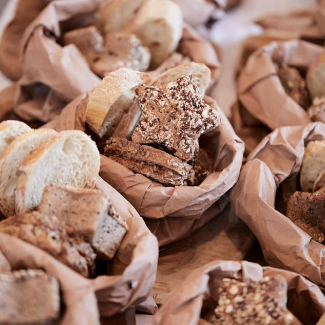 Gebäcksackerl von der Bäckerei Sorger