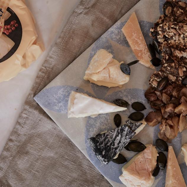 Käsequintett mit Schärdinger-Käse