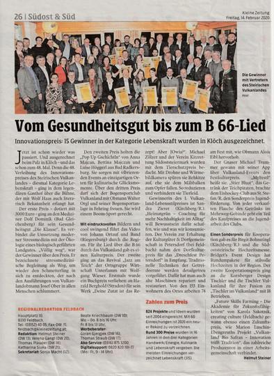 Kleine Zeitung & Pop Up Gschichtln