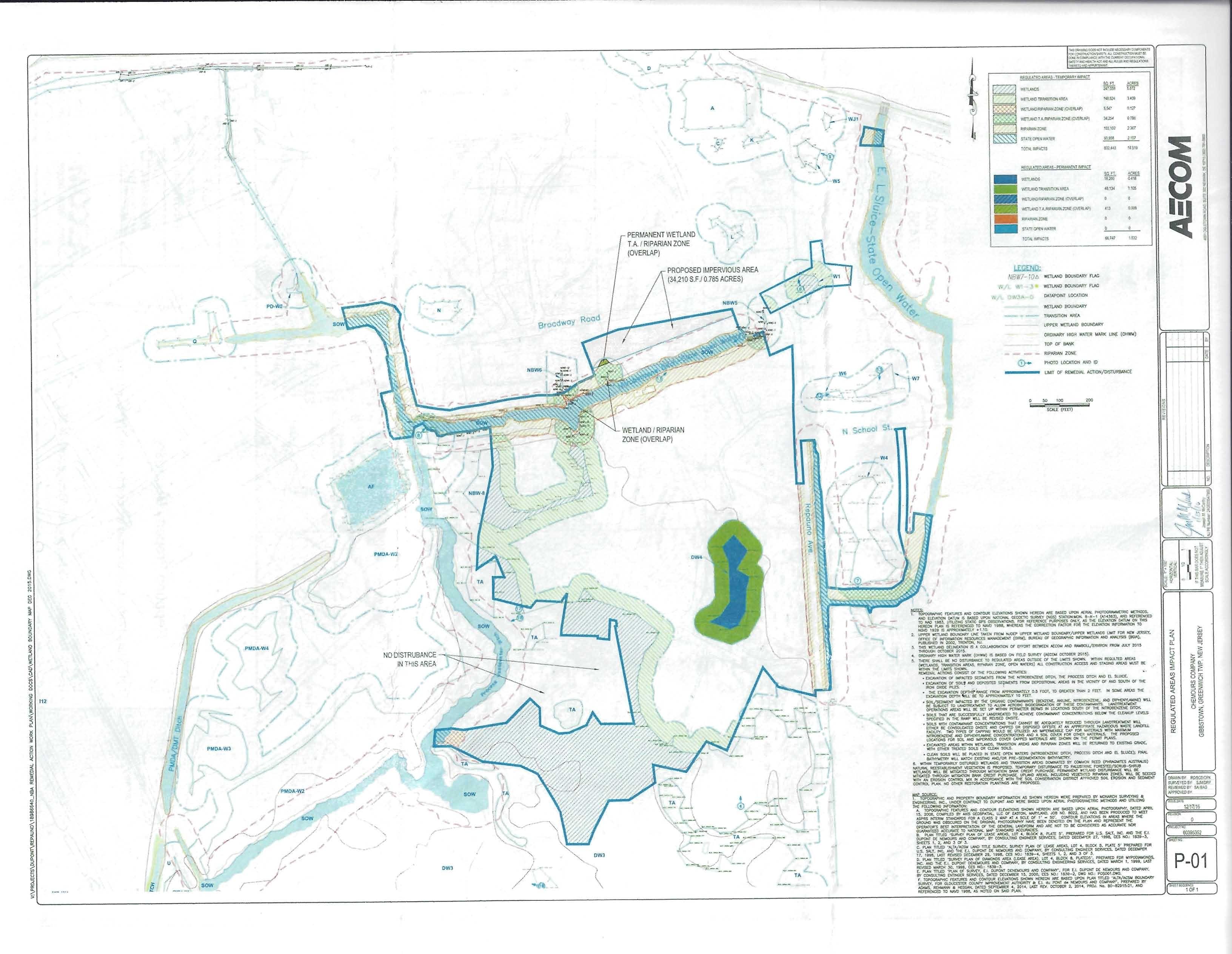 Regulated Areas Impact Plan