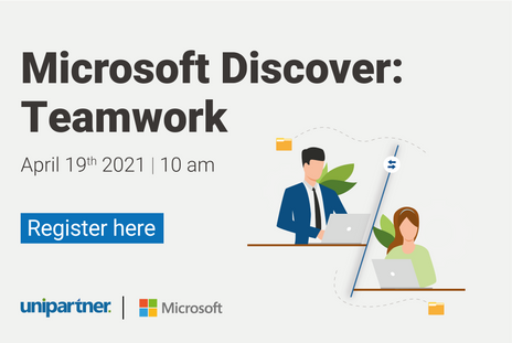 Join Tiago Fonseca for Microsoft Discover: Teamwork!