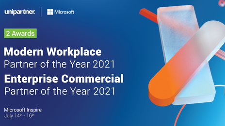 Unipartner is once again recognized by Microsoft with 2 new awards!