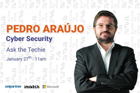 """Pedro Araújo - """"Ask the Techie"""" at #BTF21"""