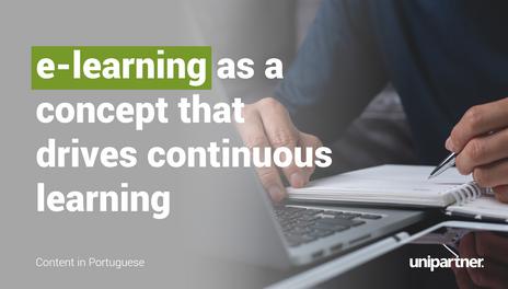 O e-learning como conceito motor da aprendizagem contínua