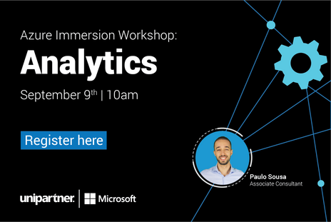 Join Azure Immersion Workshop: Analytics on September 9th, with Paulo Sousa!