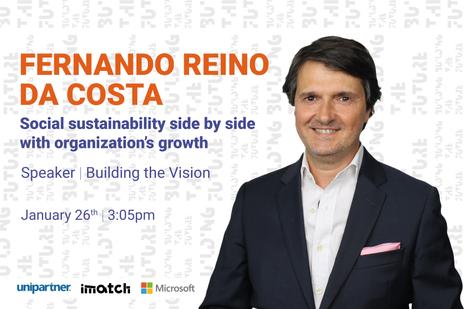 "Fernando Reino da Costa - ""Social Sustainability side by side with Organizations' Growth"" at BTF21"