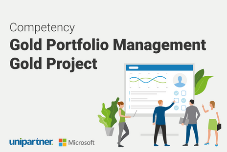 Unipartner achieved a Gold Project and Portfolio Management competency!