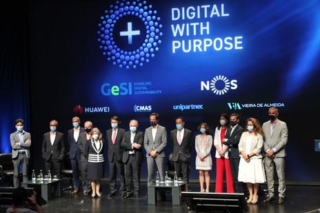 Fernando Reino da Costa at the Digital with Purpose Movement Launch! EU Digital Summit - Lisbon 2021