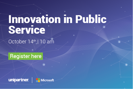"""Join us on """"Innovation in Public Service"""" on Oct 14th at 10am!"""