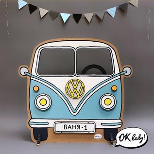 Автобус Фольксваген из картона.jpg