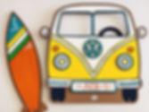 Тропический автобус Фольксваген и серф и