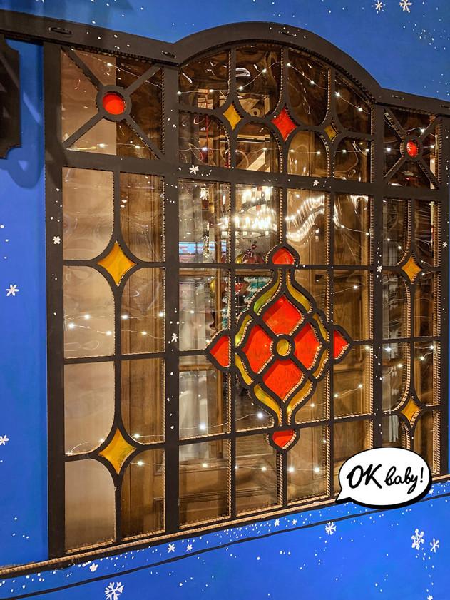 Картонный дом окно витраж декор.jpg