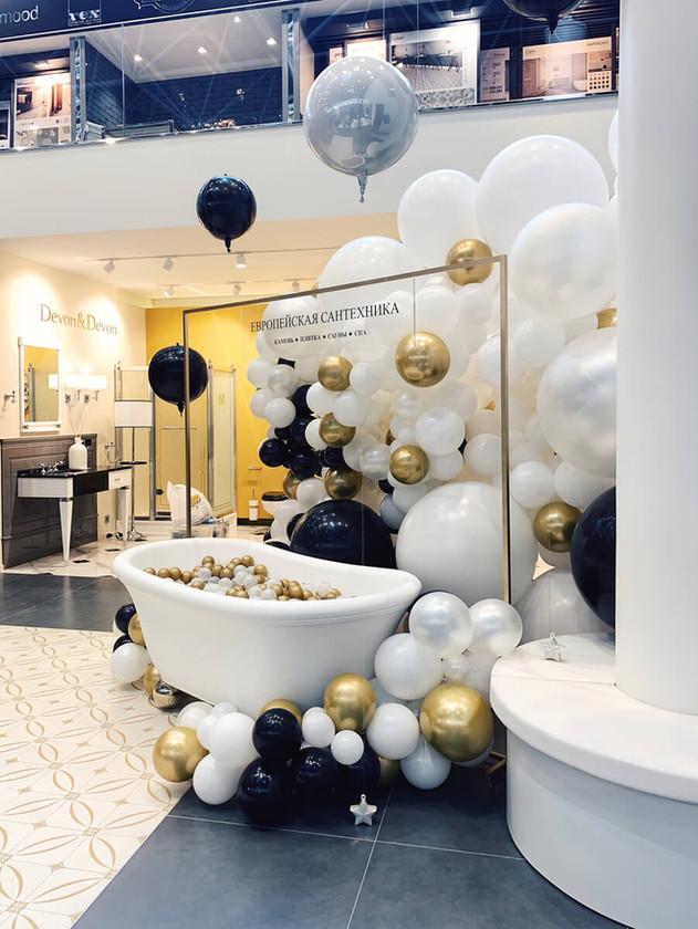 Инсталляция из шаров на мероприятие.jpg