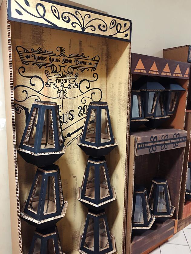 Объемный декор из картона Гарри Поттер.j