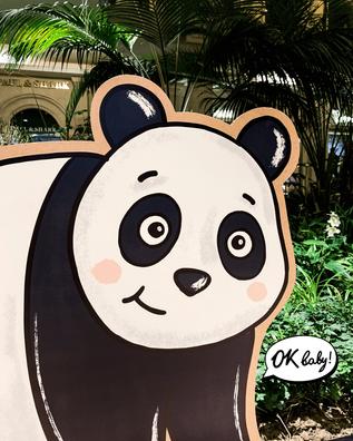 Панда из картона на праздник.png
