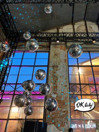 Воздушные шары для украшения мероприятия