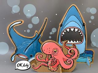 Фотозона из картона Подводный мир.jpg