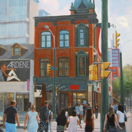 Summer at Queen and Spadina