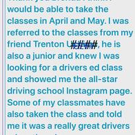 Thank you for the referral Trenton! #dri