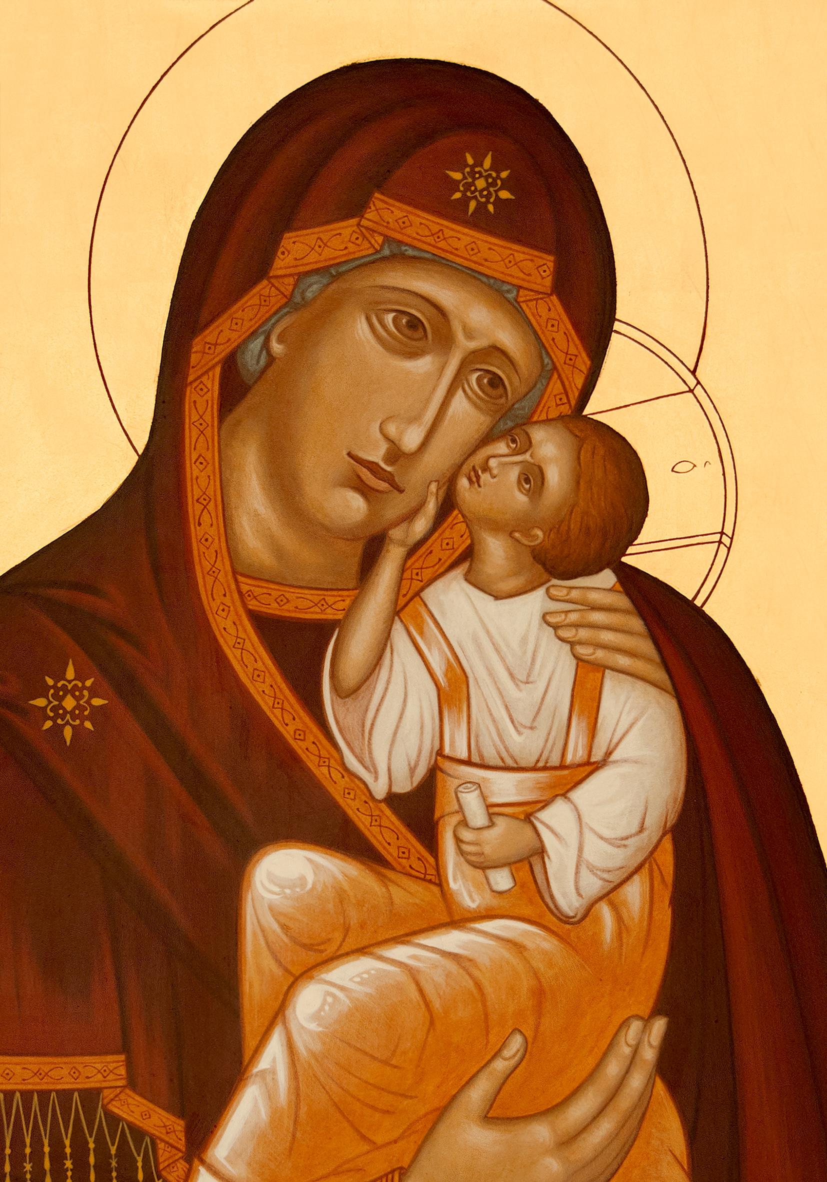 Mère de Dieu détail
