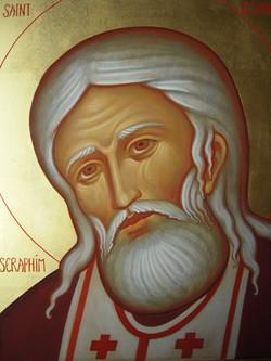 Saint Séraphim détail