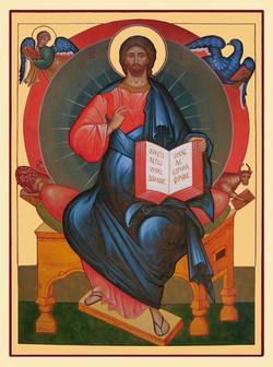 Christ en trône