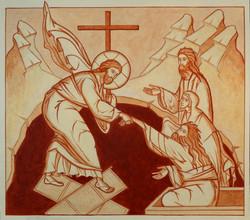 La Résurrection à l'ocre rouge
