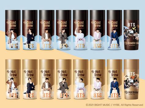 【BTSスペシャルパッケージ「アメリカーノ・バニララテ」6/29(火)より販売開始!!】
