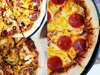 Pizza 3 Ways