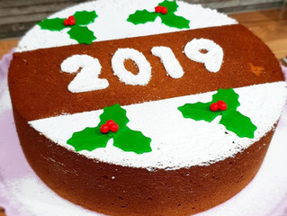 Traditional Vasilopita (Greek New Years Cake)
