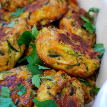 Carrot & Courgette Tots