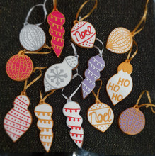 Gingerbread Baubles