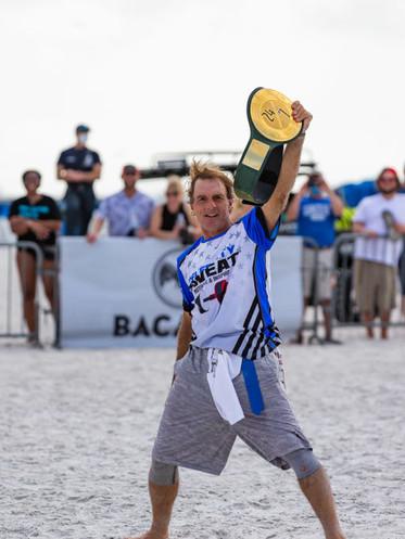 Flutie Wins the WWE Belt