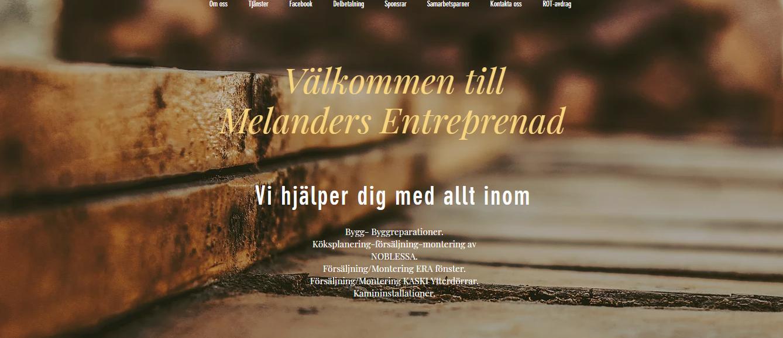 Melanders Entreprenad