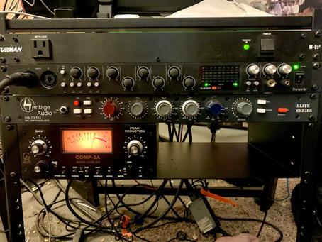 New Gear Day! - Heritage Audio Elite Series HA73EQ Pre-amp/EQ