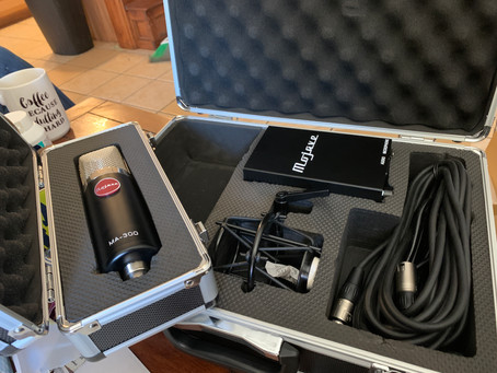 New Gear Day! - Mojave MA-300 Multi-Pattern Tube Condenser Microphone