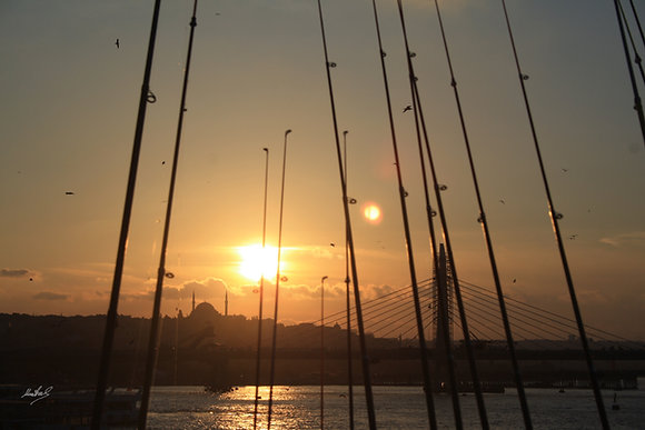 Pesca en el Bósforo