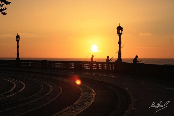 Cádiz - Atardecer
