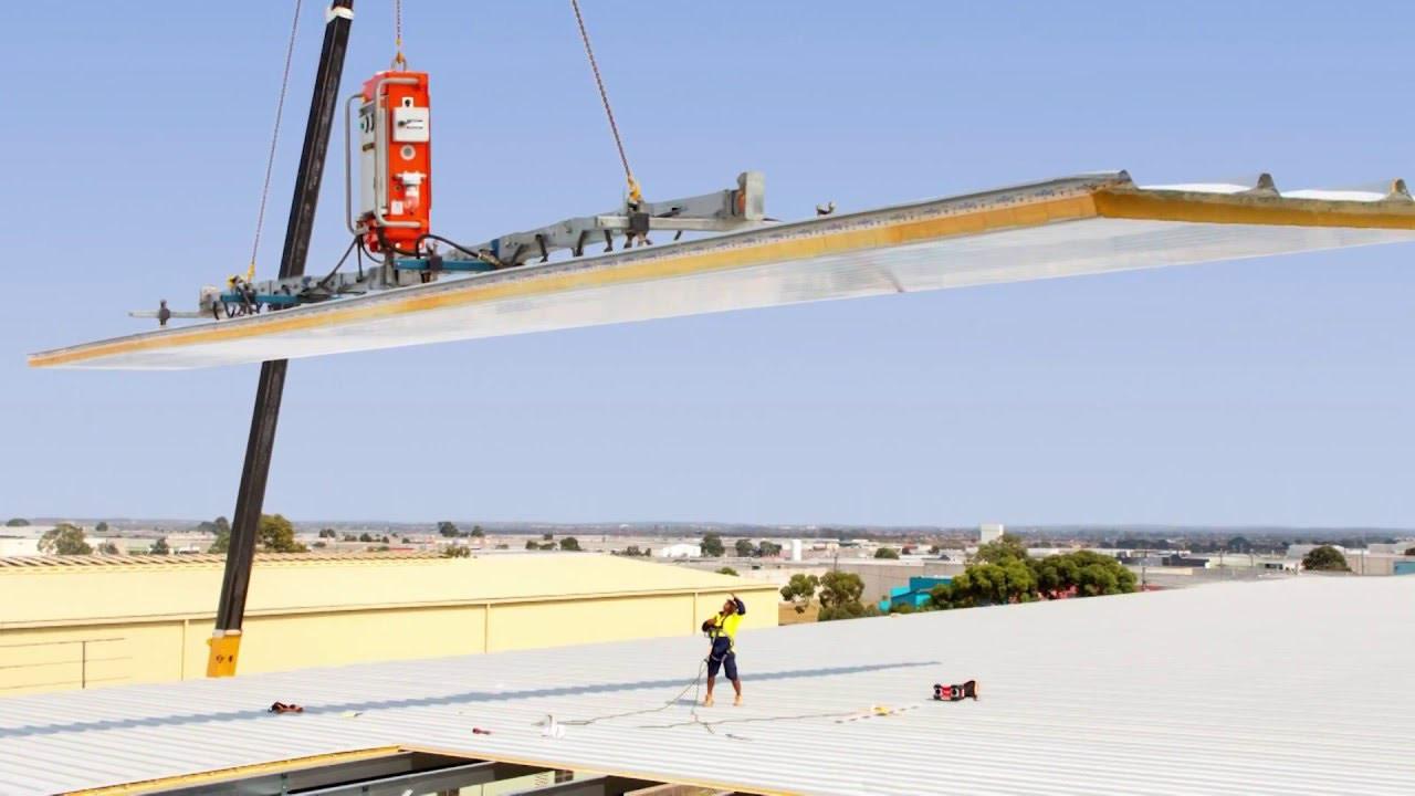 Automate Installation of Solar on Corrugated Steel