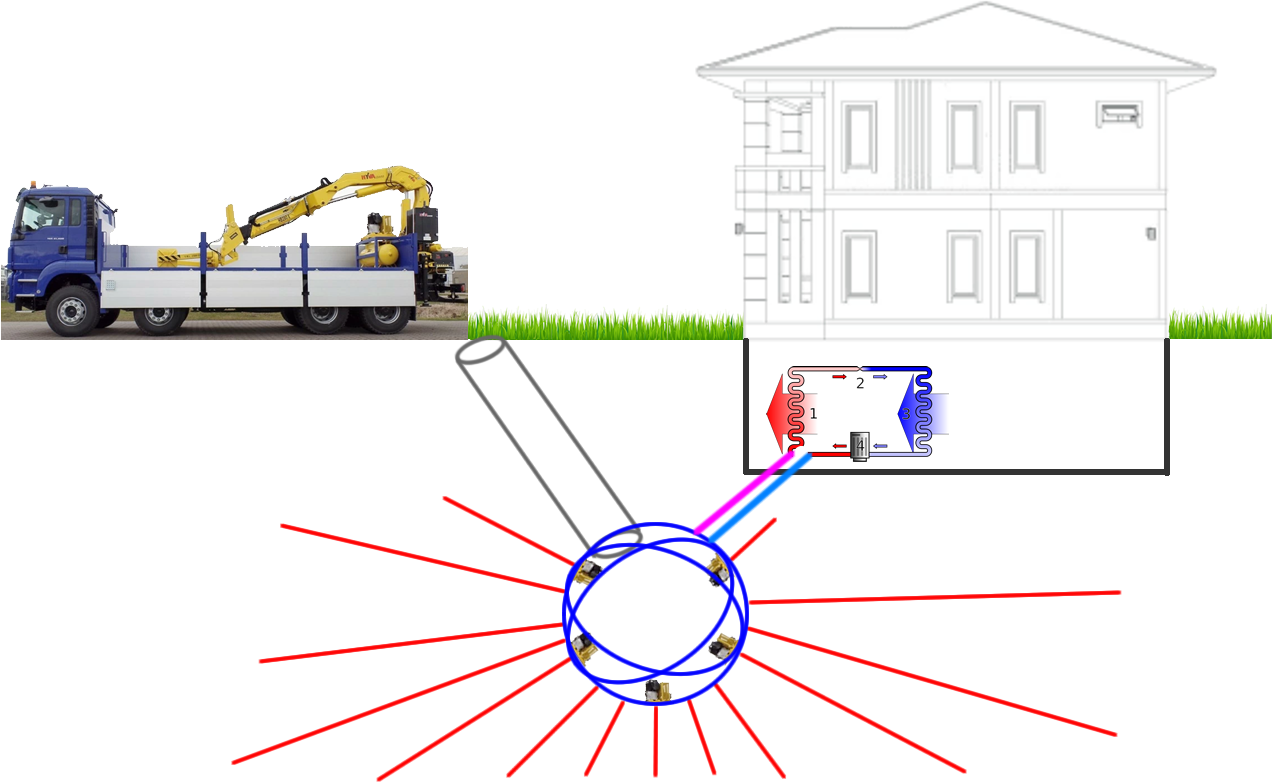 Reduce HVAC Energy w/ Low Cost Geothermal