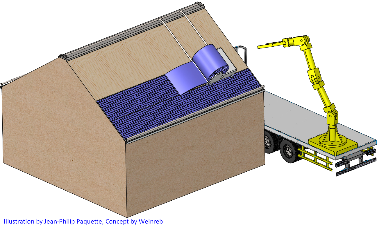 Automate Solar to Plywood Roof Installation