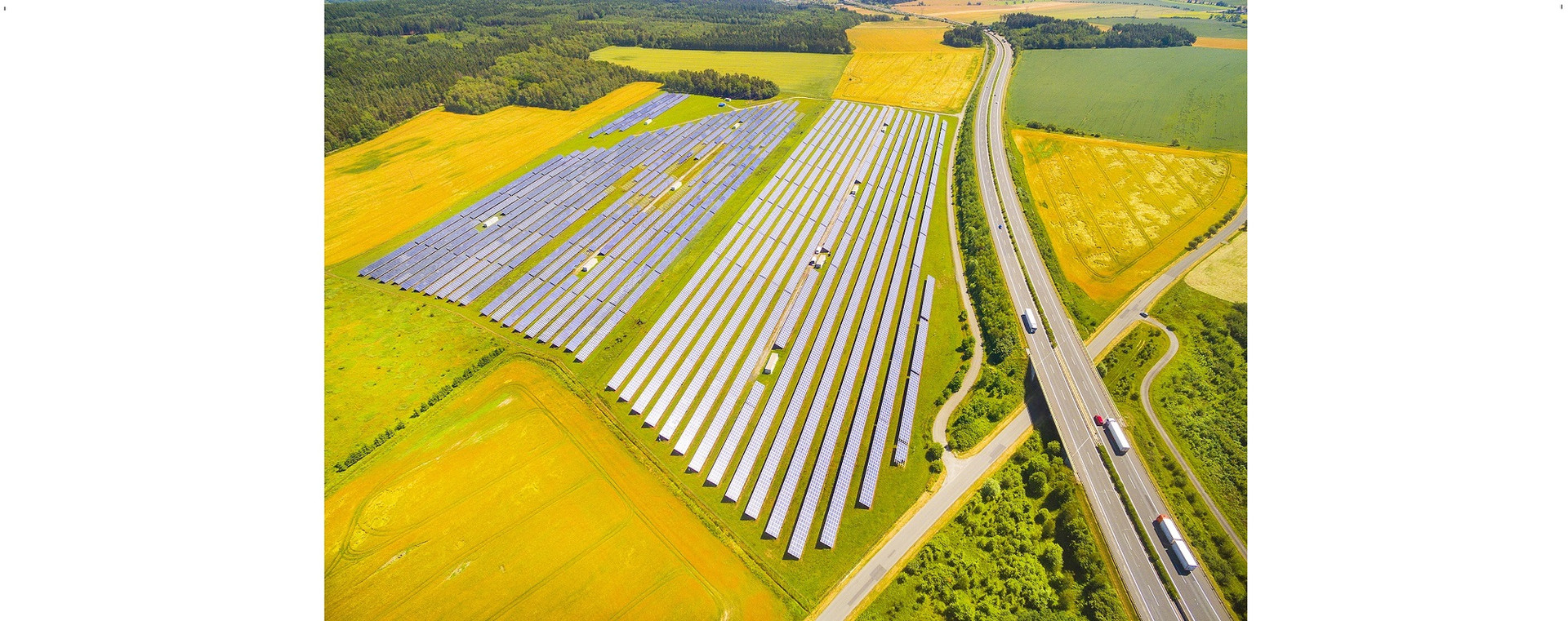 Interstate Battery Swap Station's 25 Acre Array